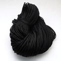 Paracord zsinór-13 (4-5 mm/1 m) - fekete, Gyöngy, ékszerkellék, Ékszerkészítés,  Paracord zsinór-13 - fekete  Az év nagy slágere a paracord, ami nem csak divat, hanem kifejező esz..., Alkotók boltja