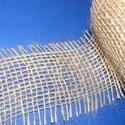 Jutaszalag (1 m) - natúr, Textil,    Jutaszalag - natúr  Nagyon szép dekorációs szalag hobbimunkákhoz.      A szalag széles..., Alkotók boltja