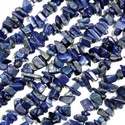 Ásványfüzér-38 (1 füzér) - lapis lazuli (lazurit), Gyöngy, ékszerkellék, Gyöngy,  Ásványfüzér-38 - lapis lazuli (lazurit)  A harmónia köve. Oldja a stresszt, növeli az extraszensz..., Alkotók boltja