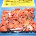 Ásványgyöngy-37 (100 db) - vörös jáspis, Gyöngy, ékszerkellék,  Ásványgyöngy-37 - vörös jáspis  Mérete: 5-15 mm  A csomag 100 db ásványgyöngyöt tartalma..., Alkotók boltja