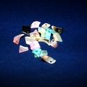 Fúrt kagyló ékszer alap (20. minta/1 csomag) - vegyes színek, Gyöngy, ékszerkellék,  Fúrt kagyló ékszer alap (20. minta) - vegyes színek - törtkagyló   Az ékszerkészítés dek..., Alkotók boltja