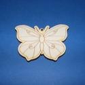 Fa alap (27. minta/1 db) - kicsi pillangó, Fa,  Fa alap (27. minta) - kicsi pillangó    Mérete: 3x2,5 cm Anyaga: natúr rétegelt lemezAnyagvas..., Alkotók boltja