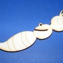 Fa alap (147. minta/1 db) - pillangó test, Fa,  Fa alap (147. minta) - pillangó test  A pillangótesthez egyénileg többféle  anyagból (karton..., Alkotók boltja