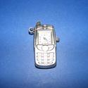 Ékszeróra (mobiltelefon minta/1 db), Órakészítés, Mindenmás,  Ékszeróra - mobiltelefon formájú - ezüst színben  Méret: 4,5x3 cm Az ár 1 db órára vonatkozik (el..., Alkotók boltja