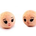 Figura fej (Ø 18 mm/1 db) - angyal fej, Figurák,  Figura fej - angyal, baba    Mérete: Ø 18 mmAnyaga: papír  Az ár egy darab termékre vonatkoz..., Alkotók boltja