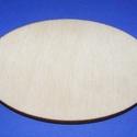 Fa alap (155. minta/1 db) - ovális (80x60 mm), Fa, Egyéb fa,  Fa alap (155. minta) - ovális   Mérete: 80x60 mmAnyaga: rétegelt lemezAnyagvastagság: 3 mm  Az ár ..., Alkotók boltja