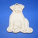 Fa alap (205. minta/1 db) - kutya, Fa, Egyéb fa,  Fa alap (205. minta) - kutya  Mérete: 7x4,5 cmAnyaga: natúr rétegelt lemezAnyagvastagság: 3 mm Az ..., Alkotók boltja