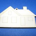 Fa alap (143. minta/1 db) - ház, Fa, Famegmunkálás, Egyéb fa,  Fa alap (143. minta) - ház    Mérete: 7x4,3 cm Anyaga: natúr rétegelt lemezAnyagvastagság: 3 mm ..., Alkotók boltja