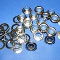 Fém ringli (Ø 5 mm/10 pár) - platinum, Csat, karika, zár, Mindenmás,  Fém ringli - platinum színben  A csomag tartalma: 10 pár platinum színű fém ringli (egy ringli 2 r..., Alkotók boltja