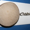 Fa kulcstartó (4,5 cm/1 db) - kerek, Fa,  Fa kulcstartó - kerek  Mérete: 4,5 cmAnyaga: natúr fa  Az ár egy darab termékre vonatkozik.  , Alkotók boltja