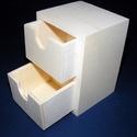 Fiókos tároló (11x8x7,5 cm/1 db) - 2 fiókos, Fa, Egyéb fa,    Fiókos tároló - 2 fiókkal Mérete:  Magasság: 11 cmSzélesség: 8 cmMélység: 7,5 cmAnyaga: natúr ré..., Alkotók boltja
