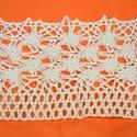 Csipke (16. minta/1 m) - beige, Textil,  Csipke (16. minta) - beige  Szélessége: 70 mmSzíne: beigeAnyaga: 100% pamut  Többféle mintáva..., Alkotók boltja