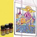 Üvegfesték (30 ml) - citrom, Festék, Üvegfesték, Festékek,  Üvegfesték (30 ml) - citrom  Az áttetsző üvegfesték gyanta alapú, oldószere a terpentin. Gyúlékony..., Alkotók boltja