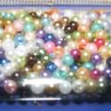 Viaszgyöngy-50 (Ø 3 mm/~ 250 db) - mix, Gyöngy, ékszerkellék, Gyöngy,  Viaszgyöngy-50 - vegyes színek  Méret: Ø 3 mmFurat: 1 mm  A csomag tartalma: kb. 250 db viaszgyöng..., Alkotók boltja