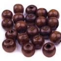 Festett fagyöngy-58 (Ø 10 mm/15 g) - sötétbarna, Gyöngy, ékszerkellék, Gyöngy,  Festett fagyöngy-58 - sötétbarna  Mérete: Ø 10 mmFurat: 3 mm  Kiszerelés: 15 gA csomag tartalma: k..., Alkotók boltja