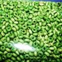 Festett fagyöngy-9 (4x3 mm/15 g) - zöld, Gyöngy, ékszerkellék,  Festett fagyöngy-9 - zöld  Mérete: 4x3 mmFurat: 1,2 mm  Kiszerelés: 15 gA csomag tartalma: kb. ..., Alkotók boltja