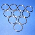 Kulcskarika (460/C minta/1 db) - 25 mm, Csat, karika, zár, Mindenmás,  Kulcskarika (460/C minta) - nikkel színben  Mérete: 25x2 mmAz ár egy darab termékre vonatkozik.  , Alkotók boltja