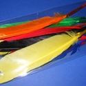 Dekorációs indián toll-7 (10 db) - mix, Vegyes alapanyag,  Dekorációs indián toll-7 - mix  A tollak mérete: 15-20 cm A csomag tartalma 10 db madártoll. ..., Alkotók boltja
