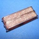 Mágnes kapocs (345/ARH minta/1 db) - arany/réz, Gyöngy, ékszerkellék,  Mágnes kapocs (345/ARH minta) - arany-réz  színben  Mérete: 38x14,5x7 mmA belső mérete: 34,5x..., Alkotók boltja