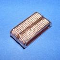 Mágnes kapocs (345/R minta/1 db) - arany/réz, Gyöngy, ékszerkellék,  Mágnes kapocs (345/R minta) - arany-réz  színben  Mérete: 28,5x14x7,5 mmA belső mérete 24,5x4..., Alkotók boltja