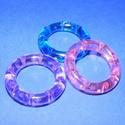 Szélcsengő tartozék (1 db) - akril elosztó gyűrű - lila, Vegyes alapanyag, Mindenmás,  Szélcsengő tartozék - akril elosztó gyűrű - lila    Mérete: 3,3 cmKorong mérete: 5x1 cm Az ár eg..., Alkotók boltja