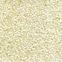 Miyuki delica kásagyöngy (14. minta/5 g) - opak krém, Gyöngy, ékszerkellék,  Miyuki delica kásagyöngy (14. minta) - krém - opak  Mérete: 11/0 (1,7 mm)  Kiszerelés: 5 g  Az..., Alkotók boltja