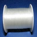 Damil (Ø 0,6 mm/1 db), Gyöngy, ékszerkellék, Ékszerkészítés,  Damil - színtelenKiváló minőségű, nagyon erős, fűzésre alkalmas damil.Mérete: Ø 0,6 mmA tekercsen ..., Alkotók boltja