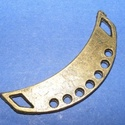 Bronz medál alap (K37. minta/1 db), Vegyes alapanyag, Mindenmás,    Medál vagy fülbevaló alap (K37. minta) - bronz színben KIFUTÓ TERMÉK!   Mérete: 35x10 mm  Az ár ..., Alkotók boltja