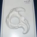 Mécses-7 - gipszöntő forma (1 motívum), Szerszámok, eszközök, Egyéb szerszám, eszköz, Gipszöntés,          Mécses-7 - gipszöntő forma - szívek  - sablon: 18x29 cm- minta: 15x13 cm Az ár egy darab t..., Alkotók boltja