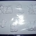 Állat-3 - gipszöntő forma (7 motívum) - állatpárok + mini állatok, Szerszámok, eszközök, Egyéb szerszám, eszköz, Gipszöntés,         Állat-3 - gipszöntő forma - állatpárok + mini állatok  - sablon: 16x23 cm- minta: 7x5 cm (k..., Alkotók boltja