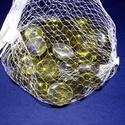 Üvegkavics-24 (300 g) - csillogó olivazöld, Vegyes alapanyag, Mindenmás,    Üvegkavics-24 - csillogó olivazöld A lencsék mérete: 2 cmKiszerelés: kb. 300 g   Többféle színbe..., Alkotók boltja