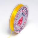 Gumis damil (Ø 0,6 mm/~ 10 m) - sárga, Gyöngy, ékszerkellék,  Gumis damil - sárgaKiváló minőségű, rugalmas, fűzésre alkalmas damil.Mérete: Ø 0,6 mmA te..., Alkotók boltja