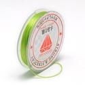Gumis damil (Ø 0,6 mm/~ 10 m) - zöld, Gyöngy, ékszerkellék,  Gumis damil - zöldKiváló minőségű, rugalmas, fűzésre alkalmas damil.Mérete: Ø 0,6 mmA tekercsen kb...., Alkotók boltja