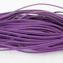 Bőrutánzat zsinór (ZS83/1 db) - lila, Egyéb alapanyag, Bőrművesség,  Bőrutánzat zsinór (ZS83) - lila  Mérete: 3x1 mm/1 m Nyakbavaló alapnak, fonási technikákhoz ajánl..., Alkotók boltja
