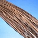 Bőrszíj - 3x1 mm (104. minta/1 db) - sötétbarna , Egyéb alapanyag, Bőrművesség,  Bőrszíj (104. minta) - sötétbarnaValódi, puha hasított marhabőrből készült.Nyaklánc alapokhoz és f..., Alkotók boltja
