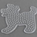 Vasalható gyöngy alapsablon (1 db) - kutya, Vegyes alapanyag, Mindenmás,  Vasalható gyöngy alapsablon - kutya  A gyerekek játékos fejlesztésében sokat  segít a vasalható g..., Alkotók boltja