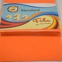 Dekorfilc (2 mm/puha) - narancssárga, Textil,   Dekorfilc - puha - narancssárga  Mérete: 30x20 cmVastagsága: 2 mm  A filc anyag, könnyen vágh..., Alkotók boltja