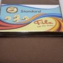 Dekorfilc (1,5 mm/kemény) - kakaóbarna, Textil,  Dekorfilc - kemény - kakaóbarna  Mérete: 30x20 cmVastagsága: 1,5 mm  A filc anyag, könnyen vá..., Alkotók boltja