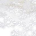 Flitter-49 (3 g/csomag) - átlátszó (virág), Gyöngy, ékszerkellék,  Flitter-49 - átlátszó - virág  Mérete: Ø 14 mmA furat mérete: 1 mm  Kiszerelés: 3 g (kb. ..., Alkotók boltja