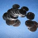 Flitter-53 (3 g/csomag) - ezüst (korong), Gyöngy, ékszerkellék,    Flitter-53 - ezüst - korong  Mérete: Ø 20 mmA furat mérete: 1 mm  Kiszerelés: 3 g (kb. 24 ..., Alkotók boltja