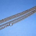 Szerelt lánc (10. minta/1 db) - 7,5x5,5x1,5 mm (erős), Gyöngy, ékszerkellék, Ékszerkészítés,  Szerelt lánc (10. minta) - antik bronz színben - extra erős- nikkelmentes -   A szem mérete: 7,5x5..., Alkotók boltja