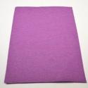 Dekorfilc (2 mm/puha) - levendula, Textil,  Dekorfilc - puha - levendula  Mérete: 30x20 cmVastagsága: 2 mm  A filc anyag, könnyen vágható,..., Alkotók boltja