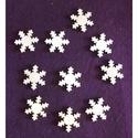 Karácsony  (3.minta/1 db) - kicsi hópehely, Fa, Famegmunkálás, Egyéb fa,  Karácsony (3.minta/1 db) - kicsi hópehely    Mérete: 30x30 mmAnyaga: natúr rétegelt lemezAnyagv..., Alkotók boltja