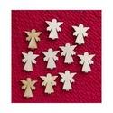 Karácsony  (9.minta/1 db) - kicsi angyal, Fa, Famegmunkálás, Egyéb fa,  Karácsony (9.minta/1 db) - kicsi angyal    Mérete: 28x30 mmAnyaga: natúr rétegelt lemezAnyagvas..., Alkotók boltja