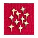 Karácsony  (11.minta/1 db) - kicsi csillag, Fa, Famegmunkálás, Egyéb fa,  Karácsony (11.minta/1 db) - kicsi csillag    Mérete: 30x40 mmAnyaga: natúr rétegelt lemezAnyagv..., Alkotók boltja