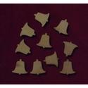 Karácsony  (1.minta/1 db) - kicsi harang, Fa, Egyéb fa,  Karácsony (1.minta/1 db) - kicsi harang    Mérete: 30x30 mmAnyaga: natúr rétegelt lemezAnyagvas..., Alkotók boltja