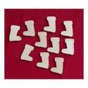 Karácsony  (13.minta/1 db) - kicsi csizma, Fa,  Karácsony (13.minta/1 db) - kicsi csizma    Mérete: 25x30 mmAnyaga: natúr rétegelt lemezAny..., Alkotók boltja