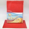 Dekorfilc (2 mm/puha) - piros, Textil,   Dekorfilc - puha - piros  Mérete: 30x20 cmVastagsága: 2 mm  A filc anyag, könnyen vágható, va..., Alkotók boltja