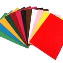 Dekorfilc (2 mm/puha) - világoszöld, Textil, Alkotók boltja