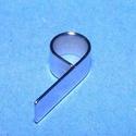 Nemesacél Medálrögzítő (STAS-73/1 db), Gyöngy, ékszerkellék, Ékszerkészítés,  Nemesacél Medálrögzítő (STAS-73/1 db) nagy lyukú,átmérő  Mérete: 21x6 mmA lyuk átmérő: 5 mm Az ár..., Alkotók boltja